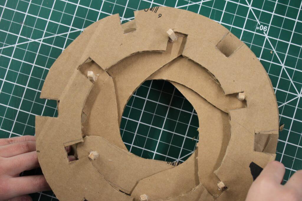 Cardboard Aperture Closed
